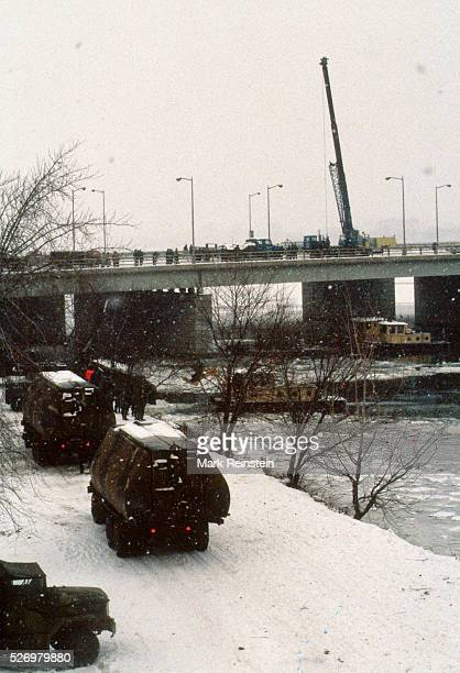 Washington DC 1141982 On January 13 Air Florida Flight 90 crashed into Washington DC's 14th Street Bridge and fell into the Potomac River shortly...