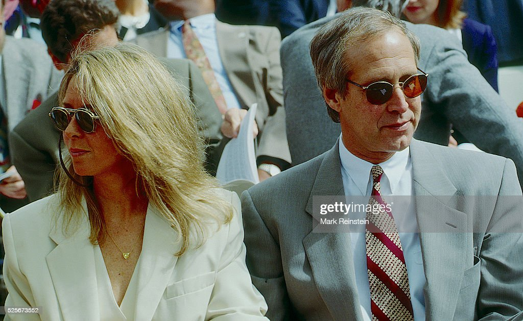Chevy Chase and Wife Jayni Luke During Earth Day in DC. : News Photo