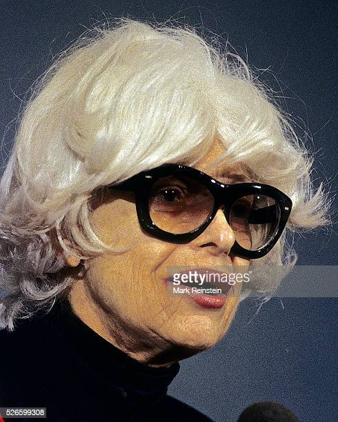 Washington DC 9261995 Carol Channing at the National Press CLub Carol Elaine Channing is an American comedian actress singer dancer and voice artist...
