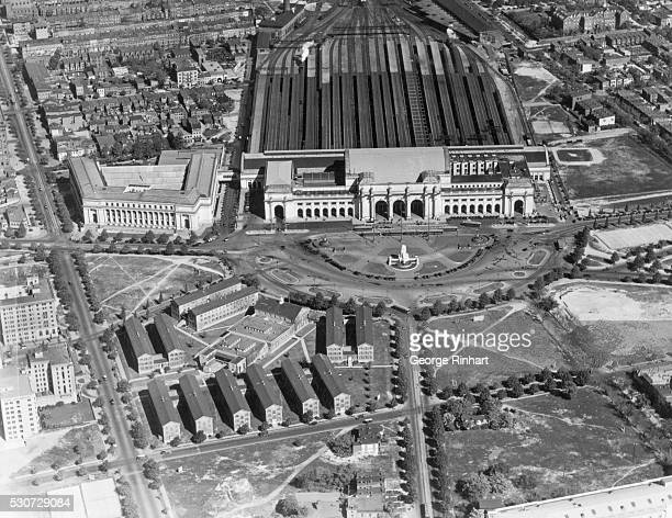 Washington, DC: Air View of Union Station. Undated photograph.