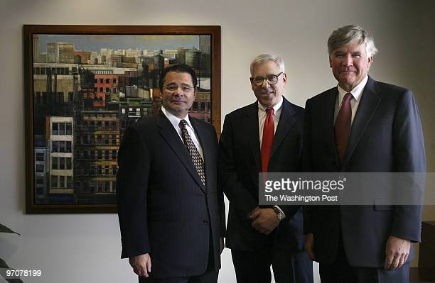 Washington, DC DATE: 10/1/07 PHOTO: Julia Ewan/TWP The three founders of the Carlyle Group an icon of Washington business having grown into one of...