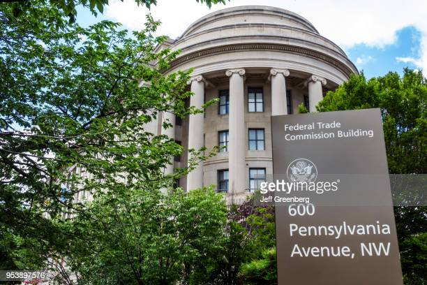 Washington DC Federal Trade Commission building exterior and sign