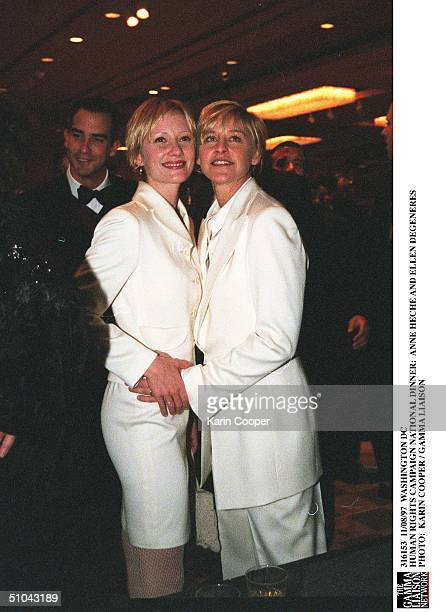 Washington Dc Human Rights Campaign National Dinner Anne Heche And Ellen Degeneres