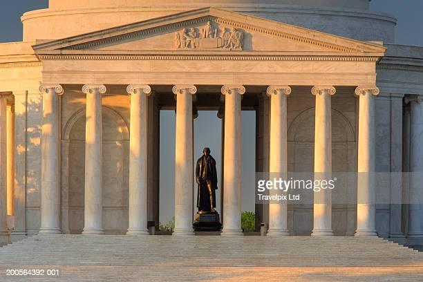 usa, washington dc, jefferson memorial, close-up - jefferson memorial stock pictures, royalty-free photos & images