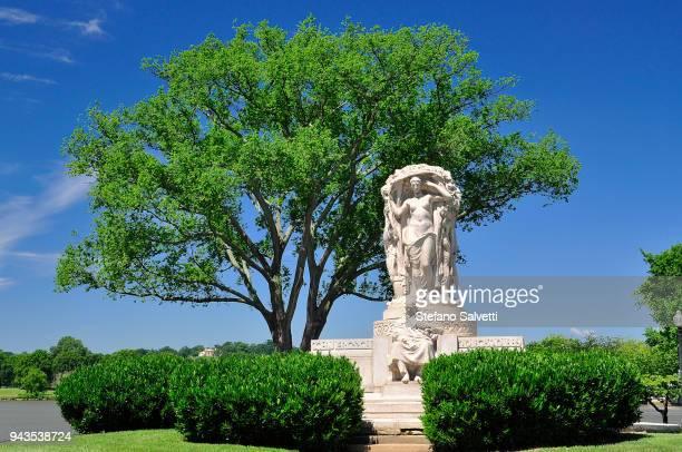 USA, Washington D.C., John Ericsson memorial