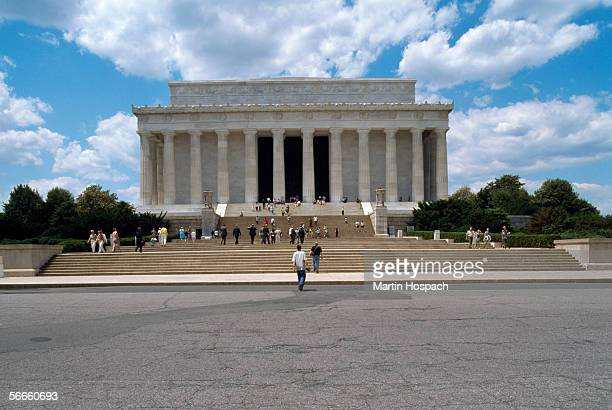usa, washington d.c., lincoln memorial - lincoln memorial stock pictures, royalty-free photos & images