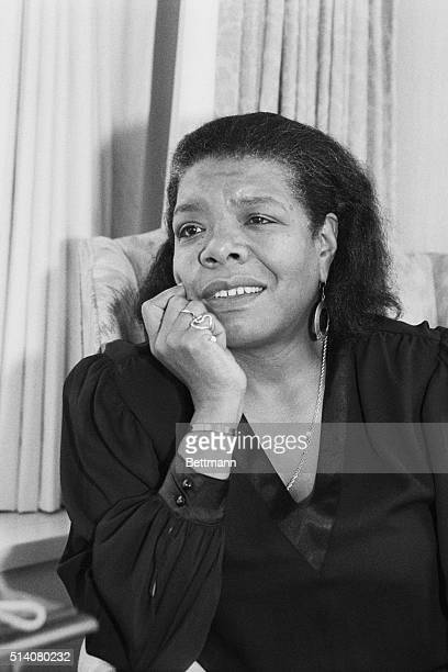 Washington, DC: Maya Angelou wants to be remembered not as a poet, singer, actress, dancer, producer, director, or as the author of five...