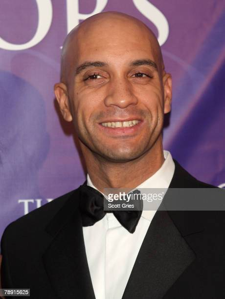 Washington DC mayor Adrian Fenty attends the BET Honors at the Warner Theater on January 12 2008 in Washington DC