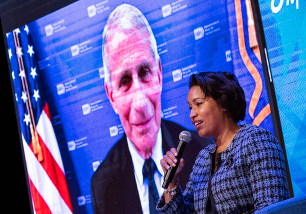 DC: Dr. Anthony Fauci Holds Discussion With DC Mayor And DC Health Officials