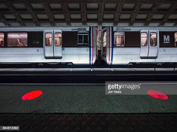 A Washington DC metro station.