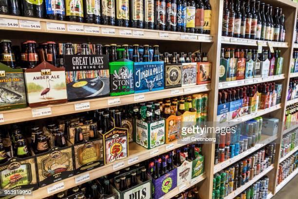 Washington DC MOM's Organic Market craft beer display