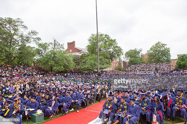 Washington DC On Saturday May 7 at Howard University Upper Quandrangle University Campus graduates alumni family and friends celebrated the...