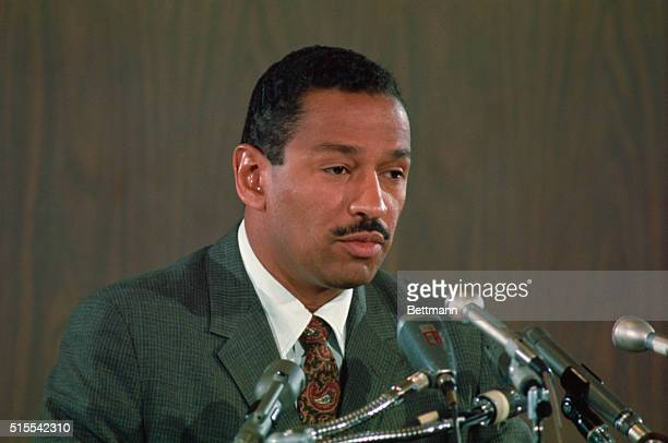 Rep John Conyers Jr during press conference