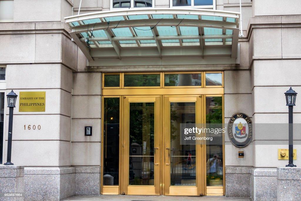 Washington DC, Scott Circle, Embassy of the Philippines