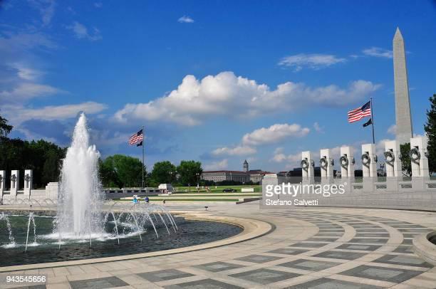 USA, Washington D.C., the world war II memorial