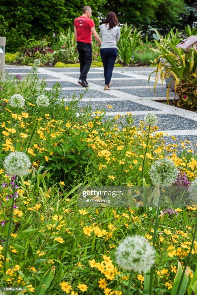 Washington DC, United States National Arboretum, botanical garden ...