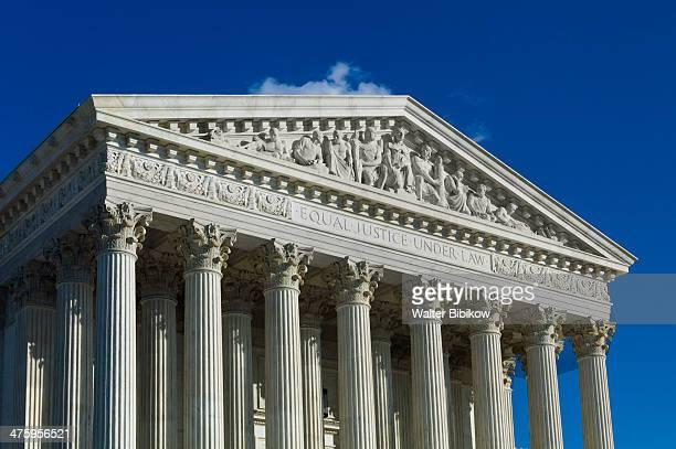 washington dc, us supreme court - supreme court stock pictures, royalty-free photos & images