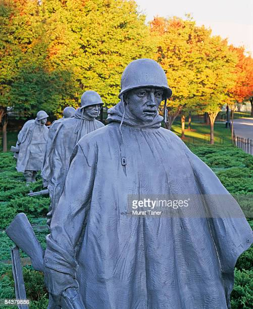 washington, dc  usa - korean war memorial stock pictures, royalty-free photos & images
