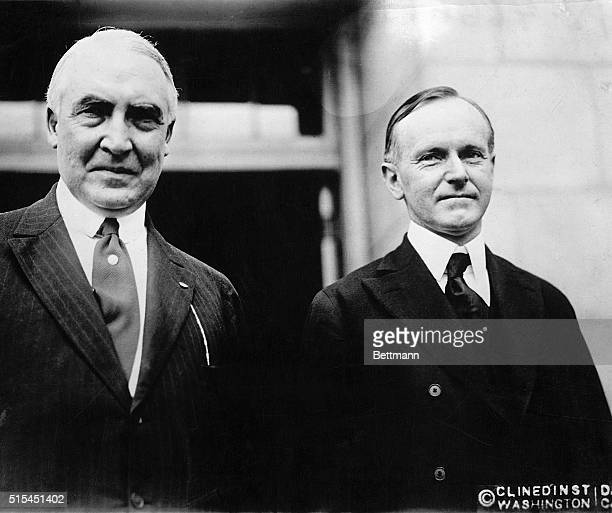 a report on harding and coolige Read all about warren g harding and calvin coolidge.