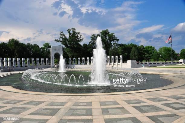USA, Washington D.C., world war II memorial