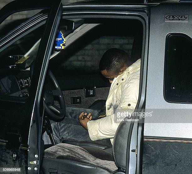 Washington DC4151989 Victim of gun violence A young man lays dead in the passenger seat of an SUV after being shot multiple times at close range One...