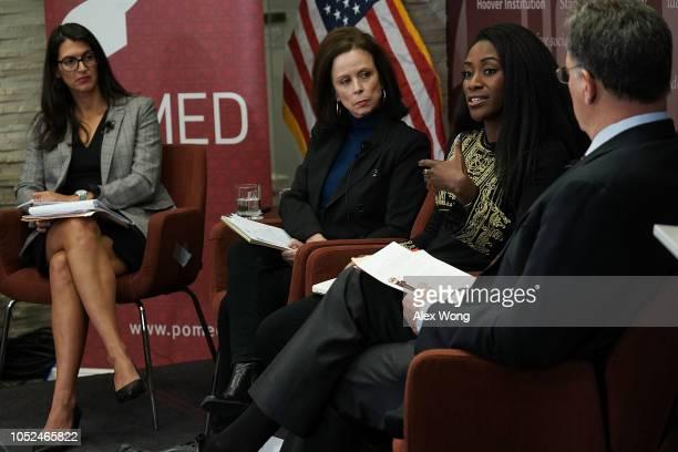 Washington director of Human Rights Watch Sarah Margon contributing writer at the New Yorker Robin Wright and Washington Post global opinion editor...