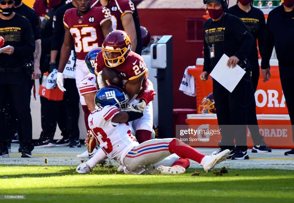 NFL: NOV 08 Giants at Washington Football Team : News Photo