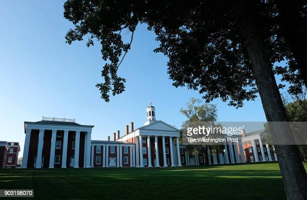 Washington Hall sits in the center of the Colonnade of Washington and Lee University Tuesday September 19 2017 This area of campus was designated a...