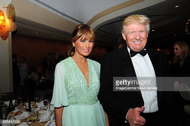 4/25/15 Washington Hilton White House Correspondents' Association Dinner Guests include Donald Trump and wife Melania Trump attend photos by Christy...
