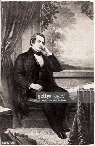 Washington Irving American Writer and Diplomat Portrait