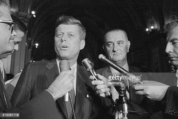 John F Kennedy speaking on the Francis Gary Powers the U2 Spy plane pilot who was shot down over the Soviet Union
