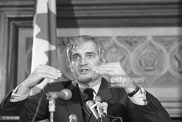 John Turner Canadian Minster of Fiance here to attend the International Monetary Fund Committee of 20 meeting holds a news conference March 27