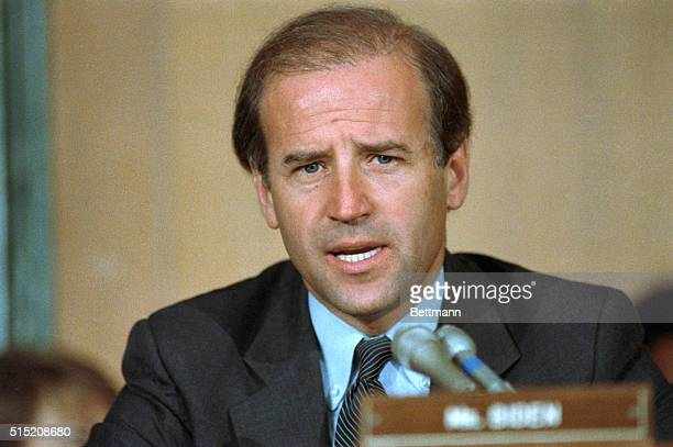 Most people don't know yet who he is but only a shortage of money the mother's milk of politics may keep Sen Joseph Biden of Delaware shown at a...