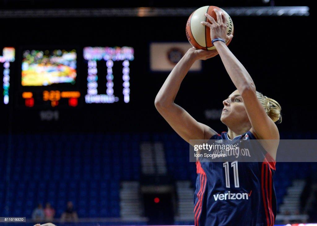 WNBA: JUL 08 Washington Mystics at Connecticut Sun : News Photo