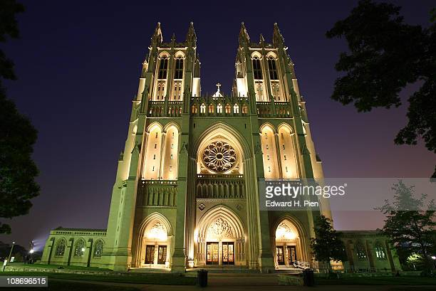 Washington National Cathedral at Night
