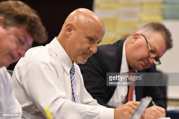Washington Nationals General Manager President Of Baseball Operations Mike Rizzo In The War Room During
