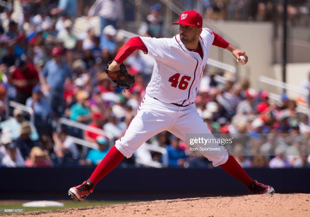 MLB: MAR 20 Spring Training - Yankees at Nationals : News Photo