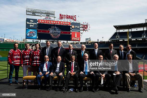 Washington Nationals Vice Chair and Principal Owner Mark Lerner NHL Commissioner Gary Bettman Washington Capitals Majority Owner Ted Leonsis Chicago...