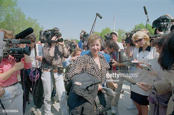 Norma McCorvey Jane Roe in Roe vs Wade is the center of the media attention following arguments in a Missouri abortion case at the Supreme Court...