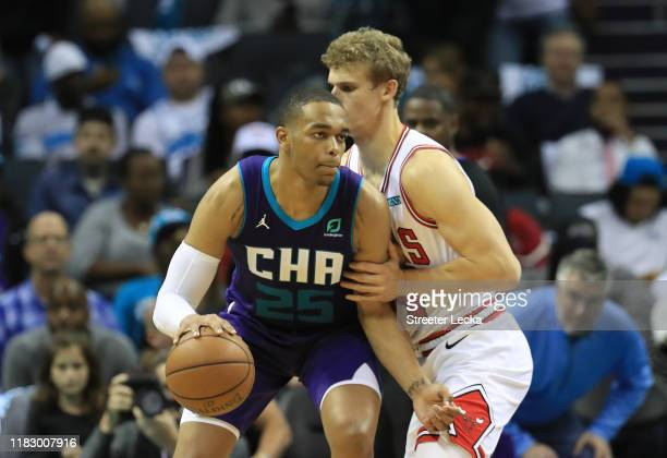Washington of the Charlotte Hornets during their game at Spectrum Center on October 23 2019 in Charlotte North Carolina NOTE TO USER User expressly...