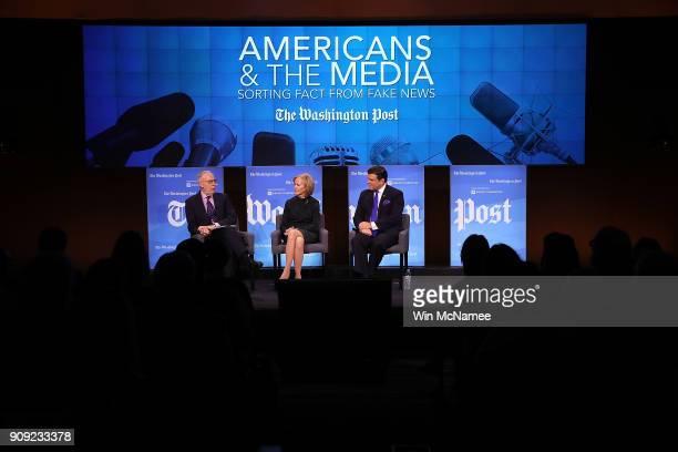 Washington Post Chief Correspondent Dan Balz Judy Woodruff anchor and managing editor of PBS' NewsHour and Bret Baier chief political anchor at Fox...