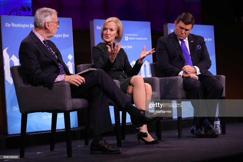 Washington Post Holds Forum On Fake News And The Media