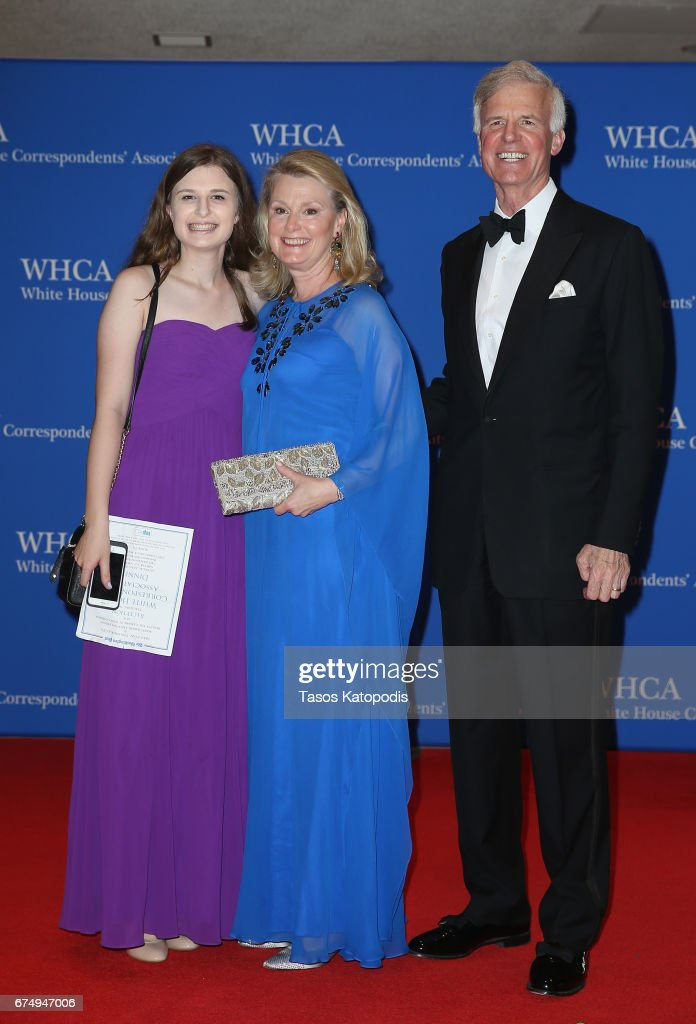 2017 White House Correspondents' Association Dinner - Arrivals : News Photo