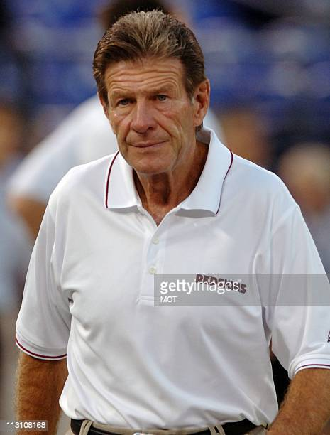 Washington Redskins assistant head coach Joe Bugel is shown before a game against the Baltimore Ravens on Thursday September 1 in Baltimore Maryland