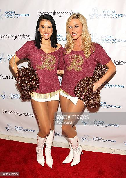 Washington Redskins Cheerleaders attend the 2014 Global Down Syndrome Foundations Be Beautiful Be Yourself DC Gala at Renaissance Mayflower Hotel on...