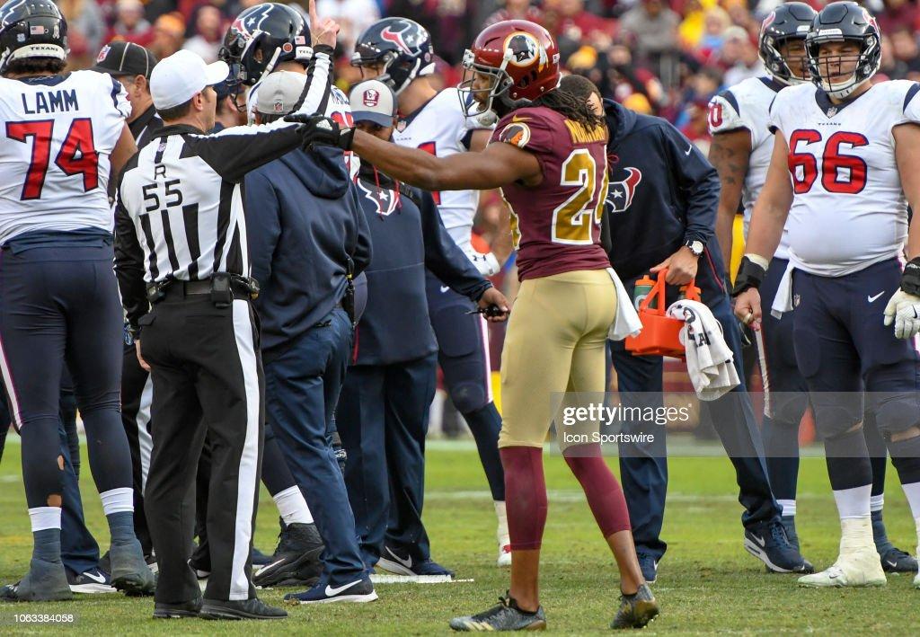 NFL: NOV 18 Texans at Redskins : News Photo