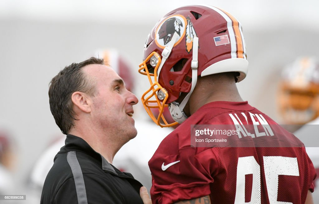 NFL: MAY 13 Redskins Rookie Camp : News Photo