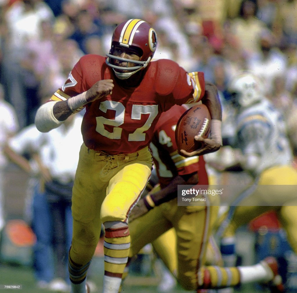 San Diego Chargers vs Washington Redskins - September 16, 1973 : News Photo