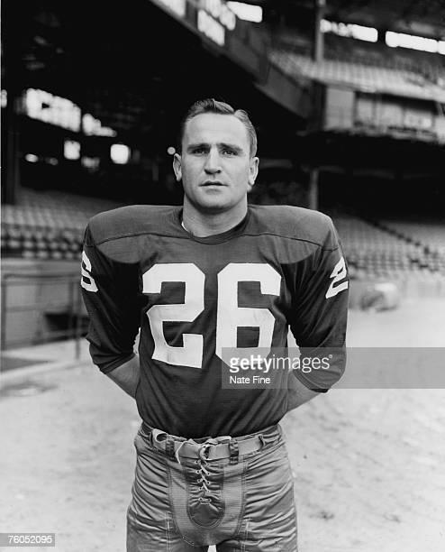 Washington Redskins Hall of Fame defensive back Don Shula during his first season with the team circa 1957.