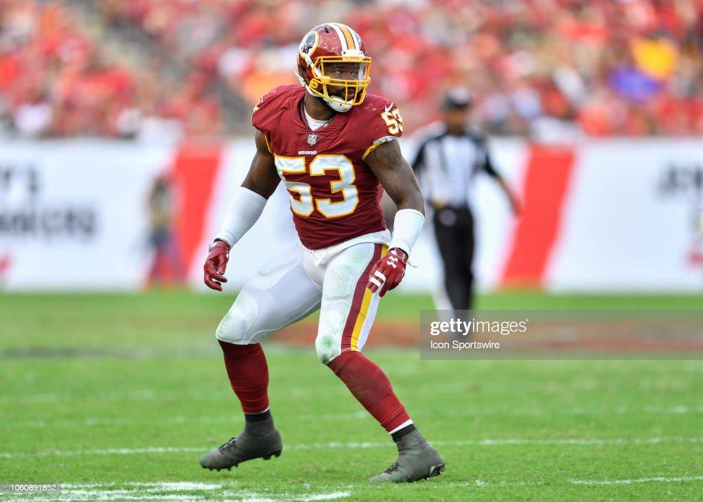 NFL: NOV 11 Redskins at Buccaneers : News Photo